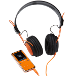 MP3 player 8GB + Stereo Headset